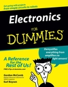 Electronics For Dummies (0764597191) cover image