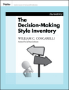 Decision-Making Style Inventory (0787988391) cover image