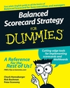 Balanced Scorecard Strategy For Dummies (1118051491) cover image