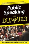 Public Speaking For Dummies, 2nd Edition (1118054091) cover image