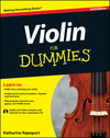Violin For Dummies, 2nd Edition (1118273591) cover image