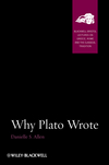 Why Plato Wrote (1118454391) cover image