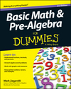 Basic Math and Pre-Algebra For Dummies, 2nd Edition (1118791991) cover image