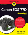 Canon EOS 77D For Dummies (1119420091) cover image
