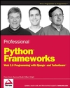 Professional Python Frameworks: Web 2.0 Programming with Django and Turbogears (0470138092) cover image