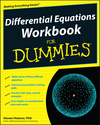 Differential Equations Workbook For Dummies (0470543892) cover image