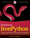 Professional IronPython (0470548592) cover image