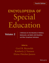 Encyclopedia of Special Education, Volume 2: A Reference for the Education of Children, Adolescents, and Adults Disabilities and Other Exceptional Individuals, 4th Edition (0470949392) cover image