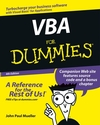 VBA For Dummies, 4th Edition (0764539892) cover image