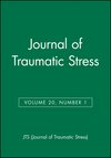 Journal of Traumatic Stress, Volume 20, Number 1 (0787997692) cover image