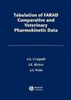 Tabulation of FARAD Comparative and Veterinary Pharmacokinetic Data (0813813492) cover image