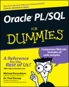Oracle PL / SQL For Dummies (1118054792) cover image
