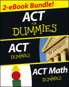 ACT For Dummies Two eBook Bundle: ACT For Dummies & ACT Math For Dummies (1118596692) cover image