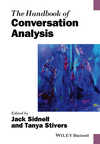 The Handbook of Conversation Analysis (1118941292) cover image