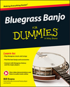 Bluegrass Banjo For Dummies (1119004292) cover image