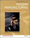 Fundamentals of Modern Manufacturing, Binder Ready Version, 6th Edition (1119128692) cover image