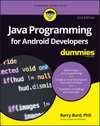 Java Programming for Android Developers For Dummies, 2nd Edition (1119301092) cover image