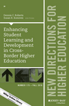 Enhancing Student Learning and Development in Cross-Border Higher Education: New Directions for Higher Education, Number 175 (1119311292) cover image