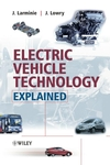 Electric Vehicle Technology Explained (0470090693) cover image
