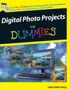 Digital Photo Projects For Dummies (0470173793) cover image