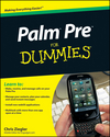 Palm Pre For Dummies (0470585293) cover image