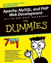 Apache, MySQL, and PHP Web Development All-in-One Desk Reference For Dummies (0764549693) cover image
