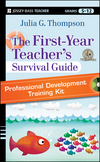 The First-Year Teacher's Survival Guide Professional Development Training Kit: DVD Set with Facilitator's Manual (1118095693) cover image