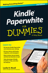 Kindle Paperwhite For Dummies, 2nd Edition (1118855493) cover image