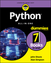 Python All-in-One For Dummies (1119557593) cover image