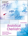 thumbnail image: Analytical Chemistry, 7th Edition, International Adaptation