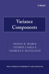 Variance Components (0470009594) cover image