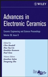 Advances in Electronic Ceramics: Ceramic Engineering and Science Proceedings, Volume 28, Issue 8 (0470196394) cover image
