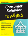 Consumer Behavior For Dummies (0470526394) cover image