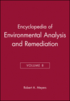 Encyclopedia of Environmental Analysis and Remediation, Volume 8 (0471166294) cover image