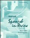 Workbook to accompany Spanish in Review, 2e (0471545694) cover image