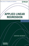 thumbnail image: Applied Linear Regression, 3rd Edition