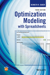 thumbnail image: Optimization Modeling with Spreadsheets, 3rd Edition