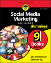 Social Media Marketing All-in-One For Dummies, 4th Edition (1119330394) cover image