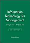 Information Technology for Management, 10e Wiley E-Text + WPLSEC Set (1119386594) cover image