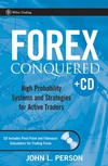 Forex Conquered: High Probability Systems and Strategies for Active Traders (0470097795) cover image
