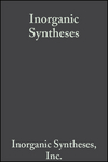 Inorganic Syntheses, Volume 13 (0470132795) cover image
