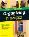 Organizing Do-It-Yourself For Dummies (0470538295) cover image