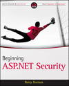 Beginning ASP.NET Security (0470663995) cover image