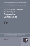 The Chemistry of Organoiron Compounds: Fe (0470973595) cover image