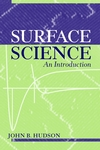 Surface Science: An Introduction (0471252395) cover image