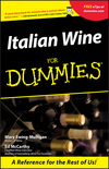 Italian Wine For Dummies (1118069595) cover image