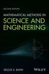 thumbnail image: Mathematical Methods in Science and Engineering, 2nd Edition