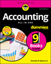 Accounting All-in-One For Dummies, with Online Practice, 2nd Edition (1119453895) cover image