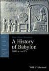 A History of Babylon, 2200 BC - AD 75 (1405188995) cover image
