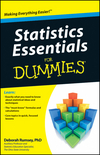 Statistics Essentials For Dummies (0470618396) cover image